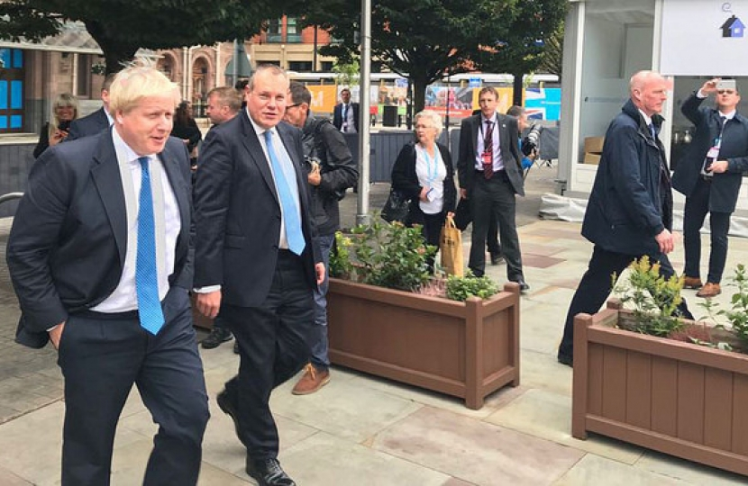 Image of Conor and Boris