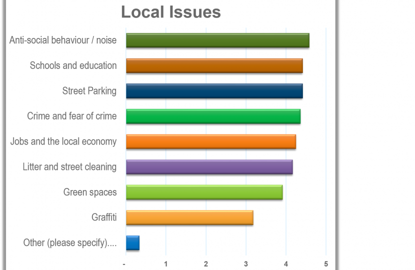 Results on local issues